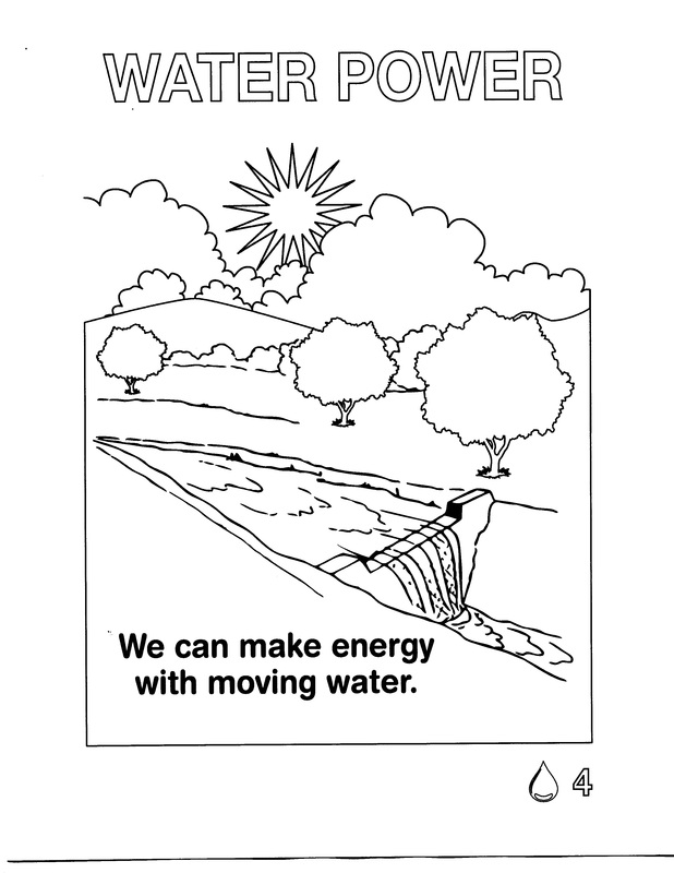 Coloring Pages Energy For Kids Energy Coloring Pages