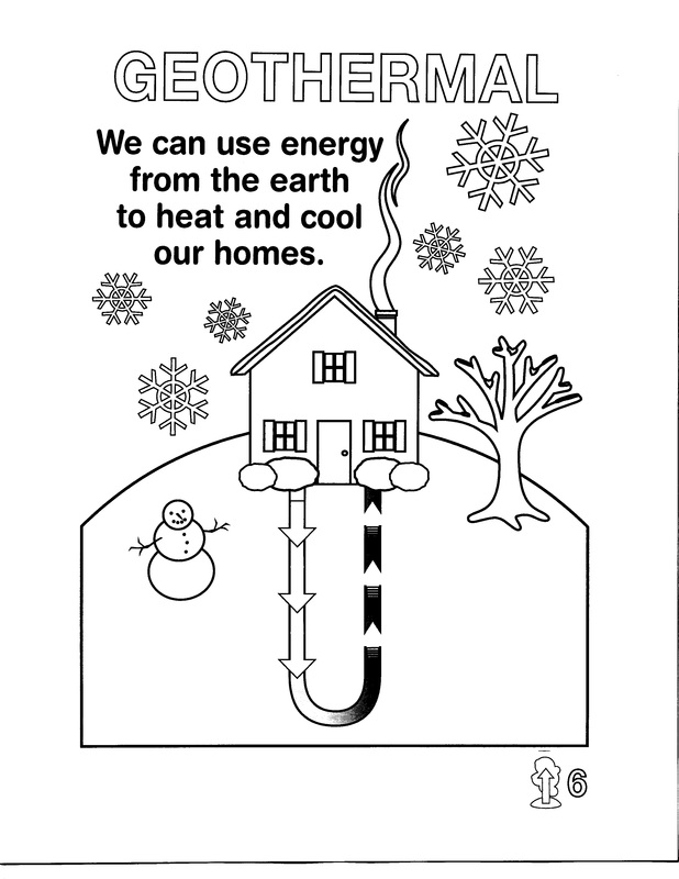 Energy Conservation Coloring Pages Coloring Pages Energy Coloring Pages